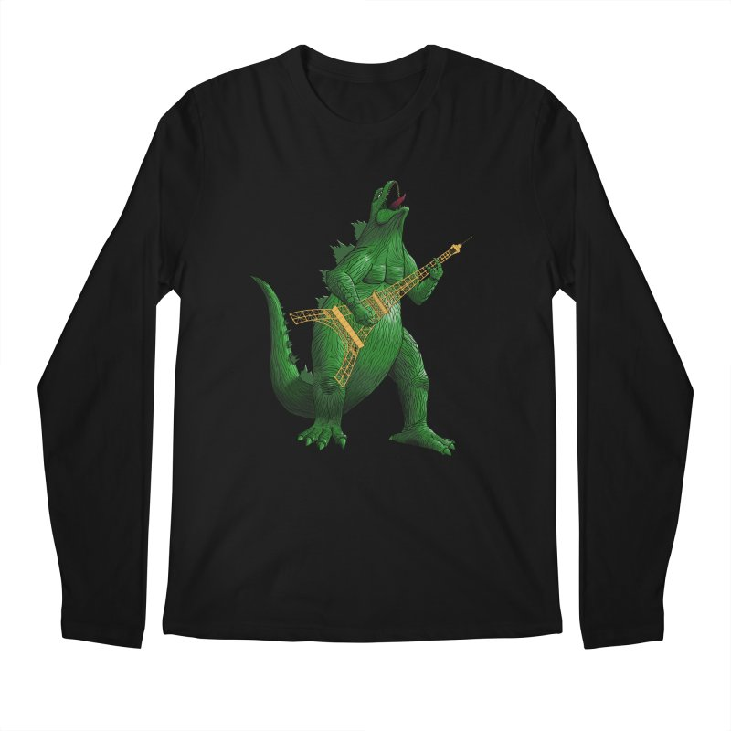 Heavy Metal Men's Regular Longsleeve T-Shirt by Yoda's Artist Shop
