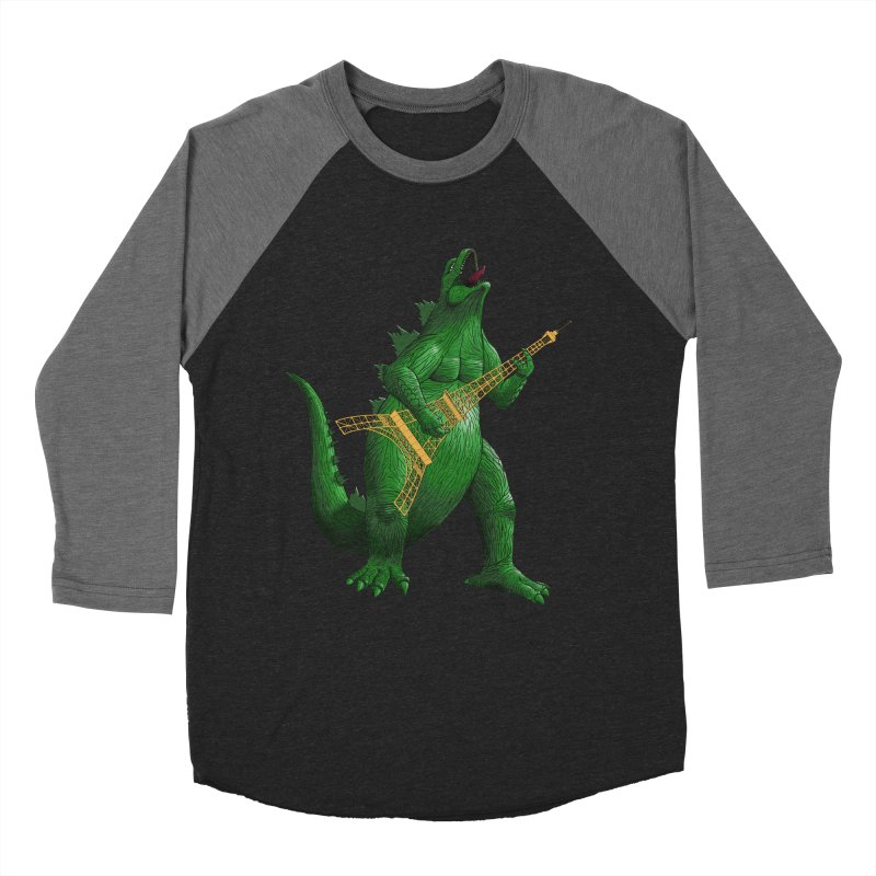Heavy Metal Men's Baseball Triblend T-Shirt by Yoda's Artist Shop