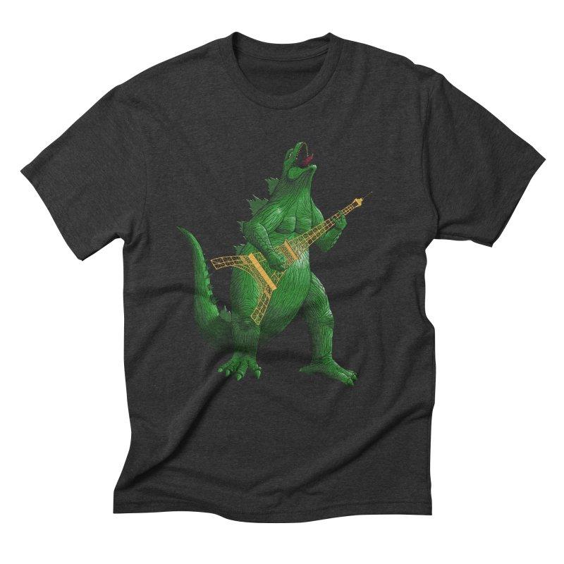 Heavy Metal Men's Triblend T-shirt by Yoda's Artist Shop
