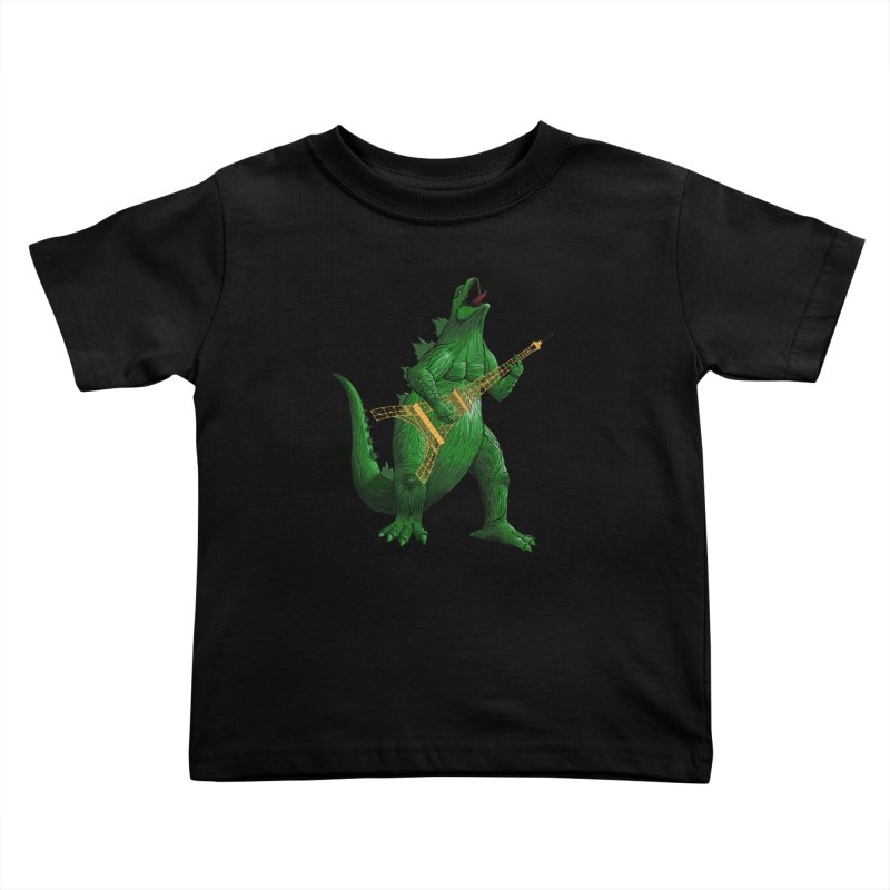 Heavy Metal Kids Toddler T-Shirt by Yoda's Artist Shop