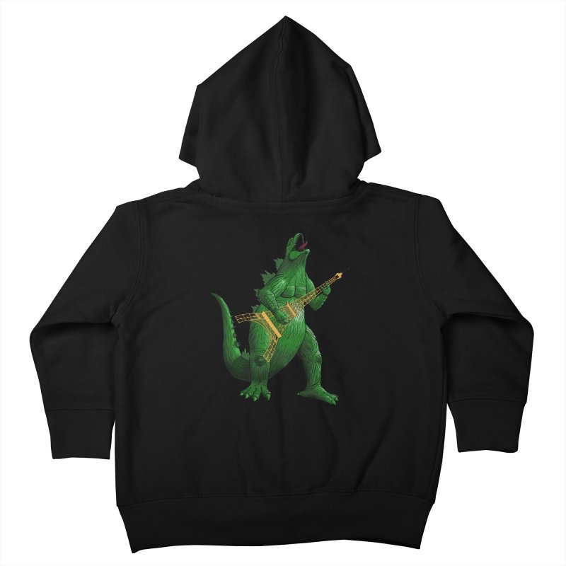 Heavy Metal Kids Toddler Zip-Up Hoody by Yoda's Artist Shop