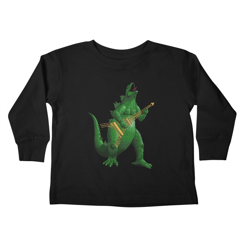 Heavy Metal Kids Toddler Longsleeve T-Shirt by Yoda's Artist Shop