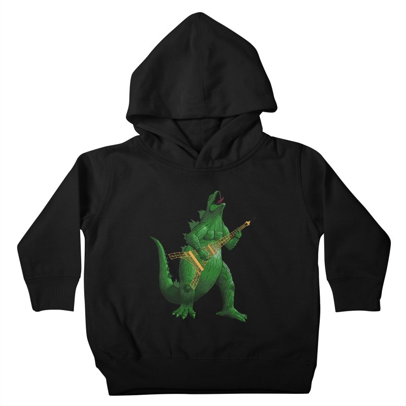 Heavy Metal Kids Toddler Pullover Hoody by Yoda's Artist Shop