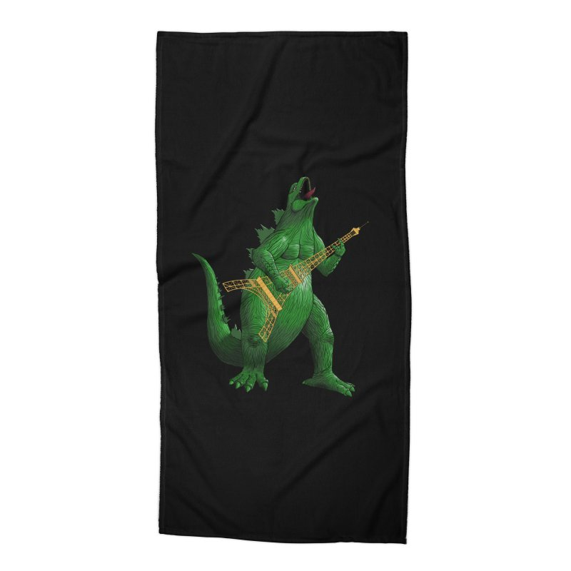 Heavy Metal Accessories Beach Towel by Yoda's Artist Shop