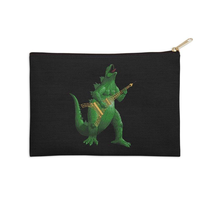 Heavy Metal Accessories Zip Pouch by Yoda's Artist Shop