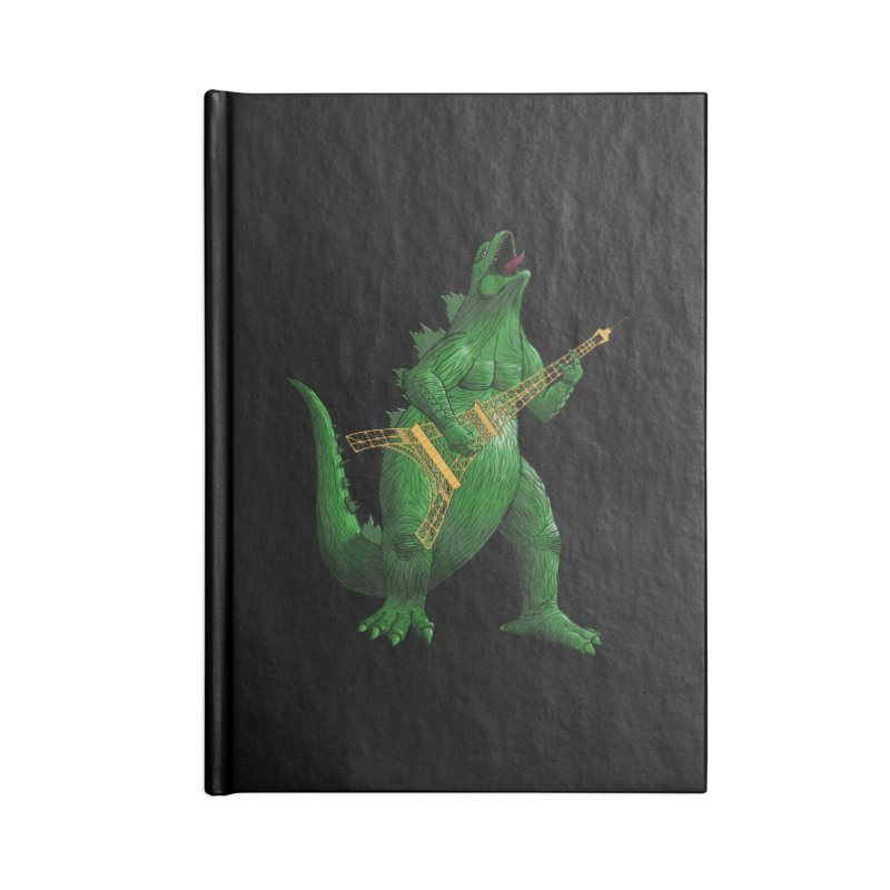 Heavy Metal Accessories Notebook by Yoda's Artist Shop