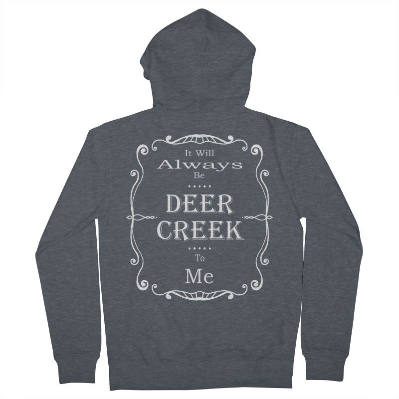 Remember Deer Creek Men's Zip-Up Hoody by Yoda's Artist Shop
