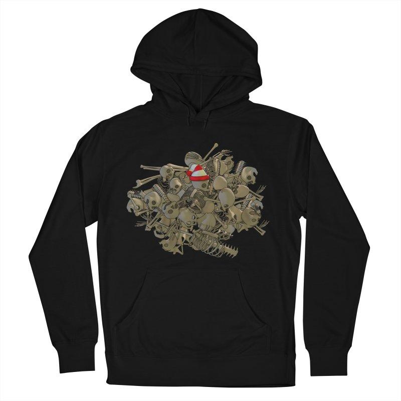 Pile O' Bones Women's Pullover Hoody by Yoda's Artist Shop