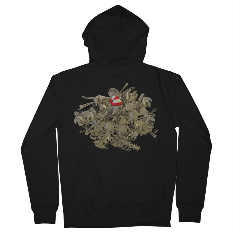 Pile O' Bones Women's Zip-Up Hoody by Yoda's Artist Shop