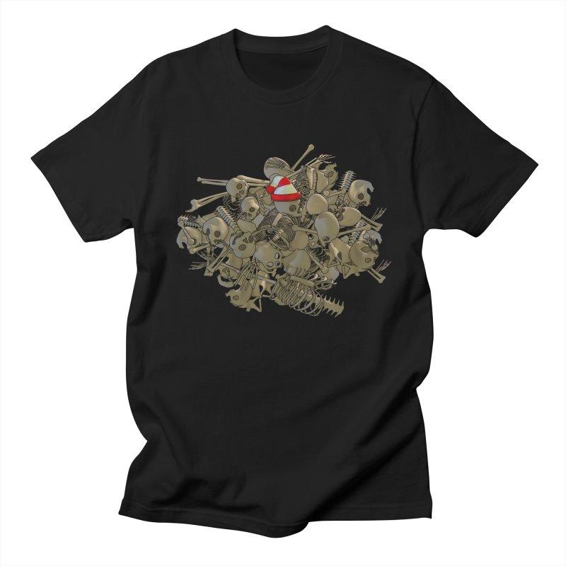Pile O' Bones Men's T-Shirt by Yoda's Artist Shop