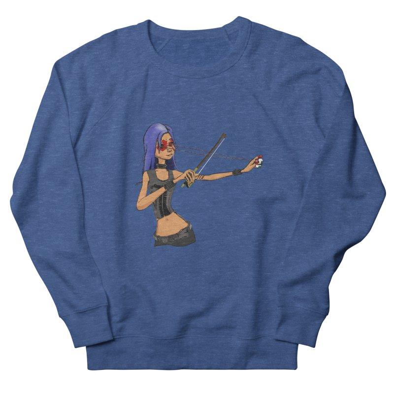 The Eyeolinist Women's Sweatshirt by Yoda's Artist Shop
