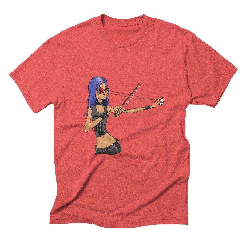 The Eyeolinist Men's Triblend T-Shirt by Yoda's Artist Shop
