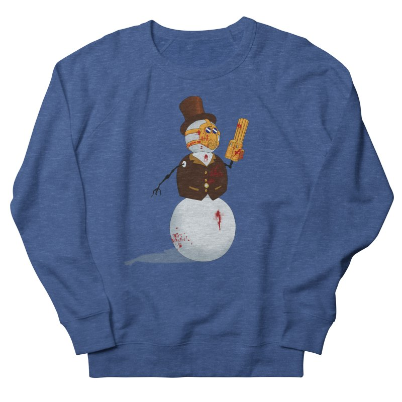 The Snowman Women's French Terry Sweatshirt by Yoda's Artist Shop
