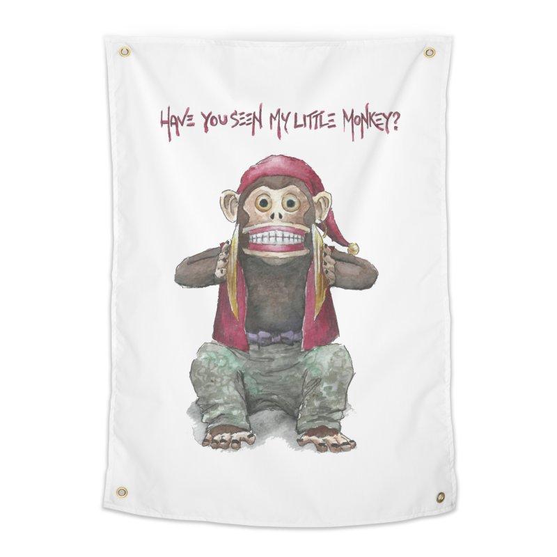 Evil Toy Monkey Home Tapestry by Yodagoddess' Artist Shop