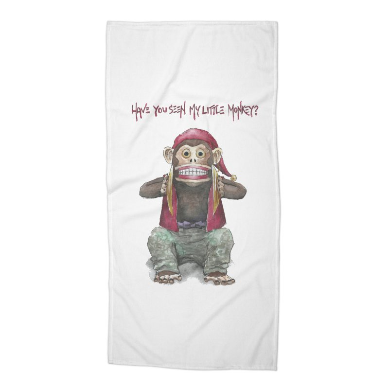 Evil Toy Monkey Accessories Beach Towel by Yodagoddess' Artist Shop