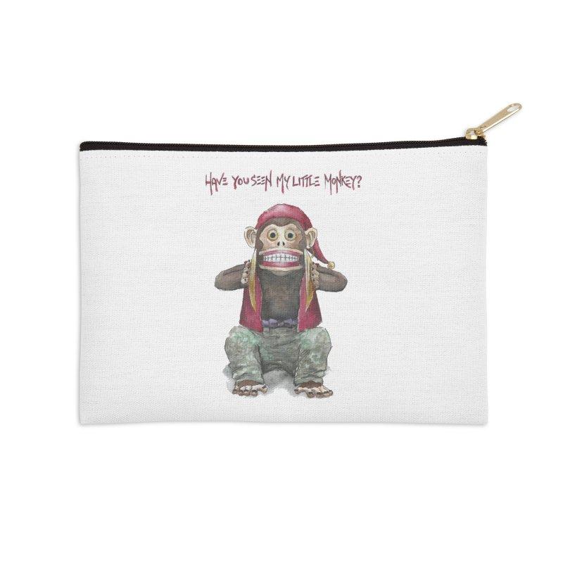 Evil Toy Monkey Accessories Zip Pouch by Yodagoddess' Artist Shop