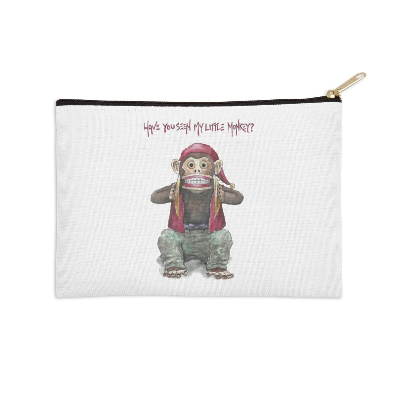 Evil Toy Monkey Accessories Zip Pouch by Yodagoddess' Artist Shop