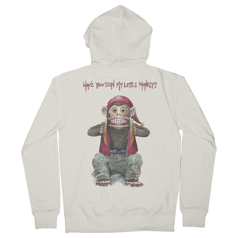 Evil Toy Monkey Women's Zip-Up Hoody by Yodagoddess' Artist Shop