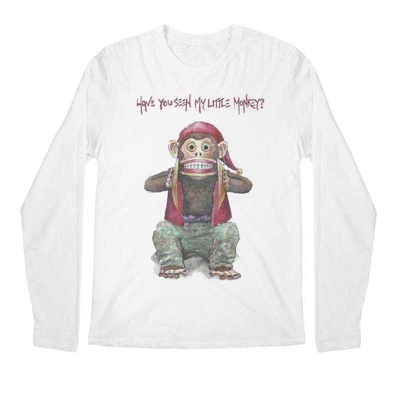 Evil Toy Monkey Men's Longsleeve T-Shirt by Yodagoddess' Artist Shop