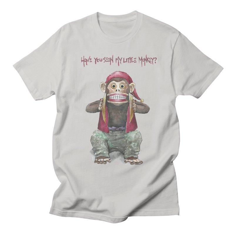 Evil Toy Monkey Men's T-shirt by Yodagoddess' Artist Shop