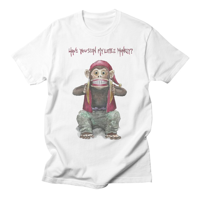 Evil Toy Monkey Men's T-shirt by Yodagoddess' Artist Shop