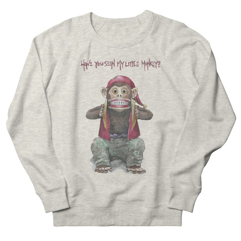 Evil Toy Monkey Men's Sweatshirt by Yodagoddess' Artist Shop