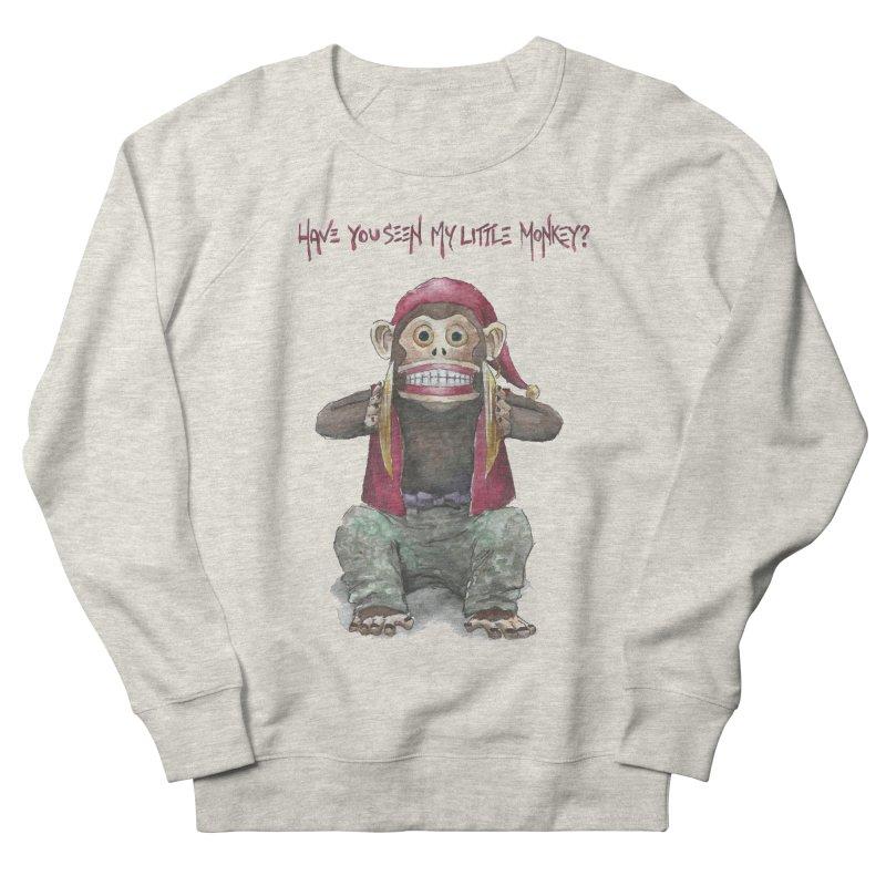 Evil Toy Monkey Men's Sweatshirt by Yodagoddess' Artist Shop