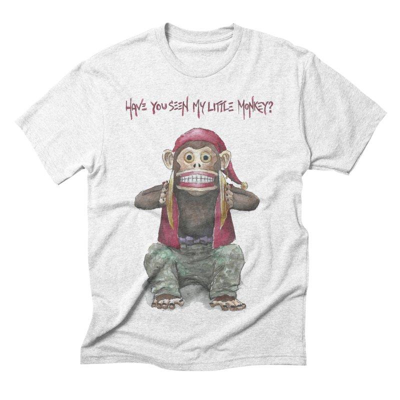 Evil Toy Monkey Men's Triblend T-shirt by Yodagoddess' Artist Shop