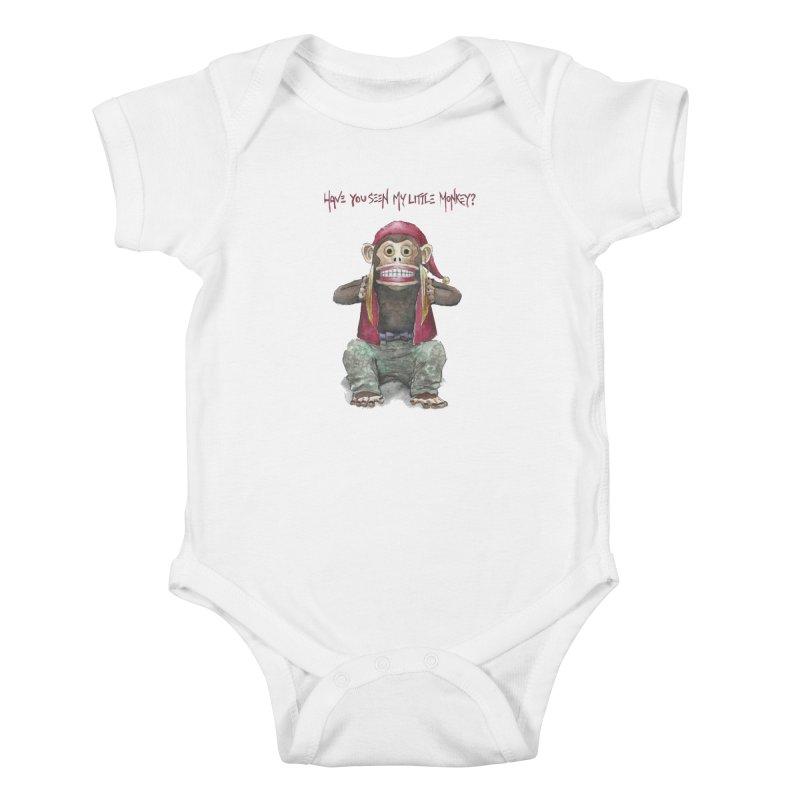 Evil Toy Monkey Kids Baby Bodysuit by Yodagoddess' Artist Shop