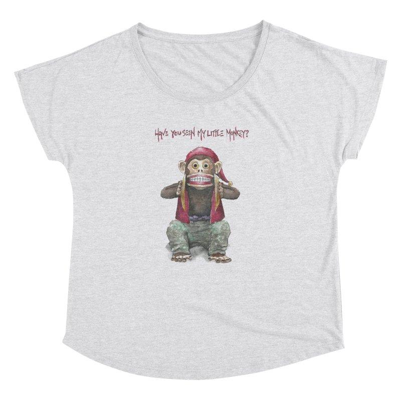Evil Toy Monkey Women's Dolman by Yodagoddess' Artist Shop