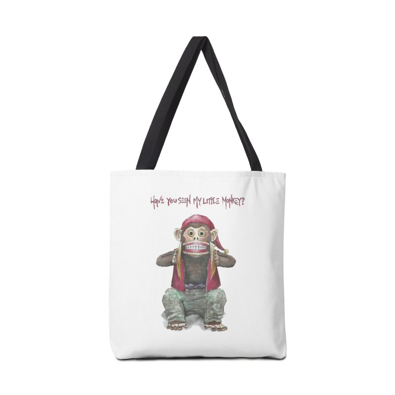 Evil Toy Monkey Accessories Bag by Yodagoddess' Artist Shop