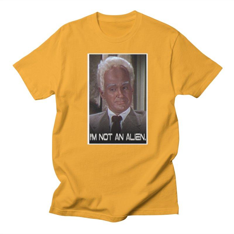 I'm Not an Alien Men's T-Shirt by Yodagoddess' Artist Shop
