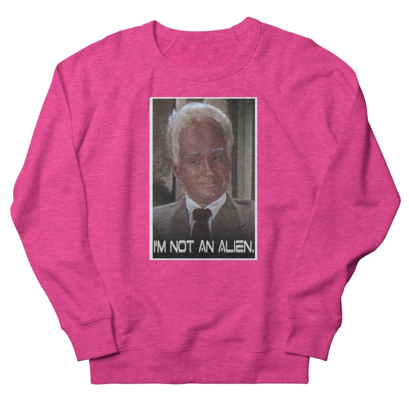 I'm Not an Alien Women's Sweatshirt by Yodagoddess' Artist Shop