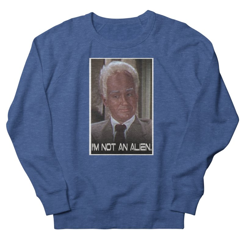 I'm Not an Alien Men's Sweatshirt by Yodagoddess' Artist Shop