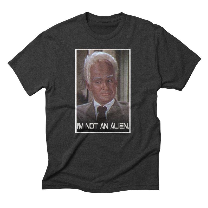 I'm Not an Alien Men's Triblend T-shirt by Yodagoddess' Artist Shop