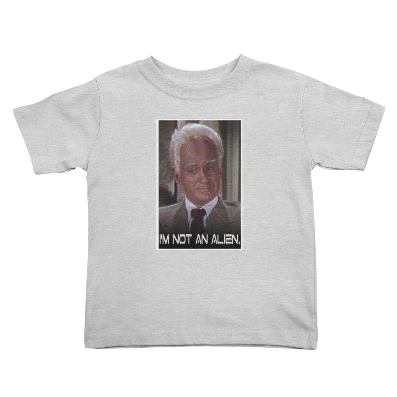 I'm Not an Alien Kids Toddler T-Shirt by Yodagoddess' Artist Shop