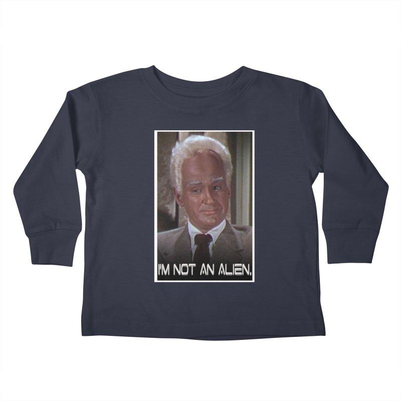 I'm Not an Alien Kids Toddler Longsleeve T-Shirt by Yodagoddess' Artist Shop