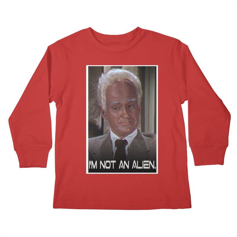 I'm Not an Alien Kids Longsleeve T-Shirt by Yodagoddess' Artist Shop