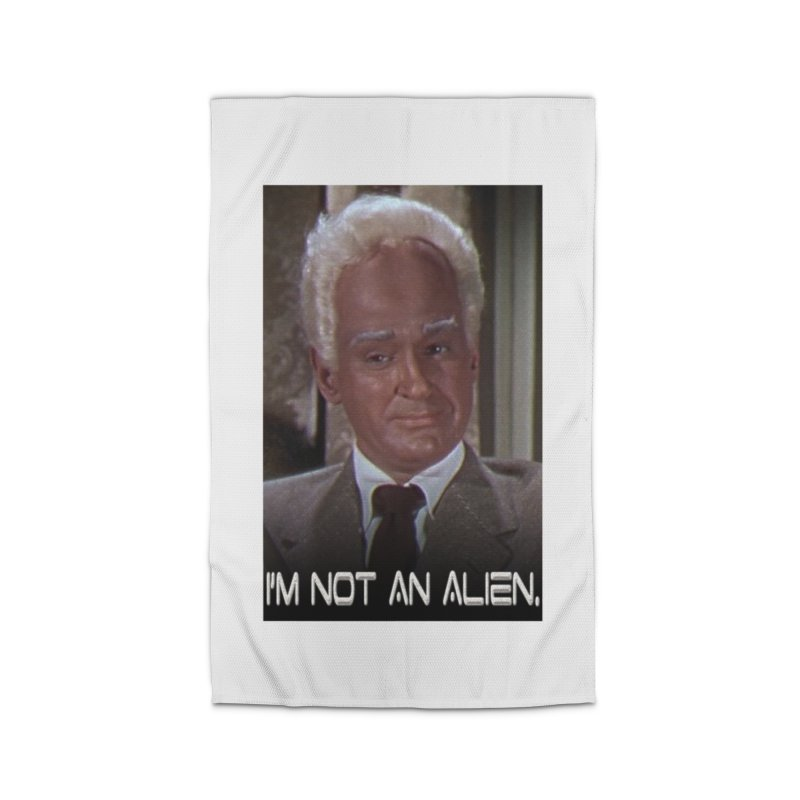 I'm Not an Alien Home Rug by Yodagoddess' Artist Shop