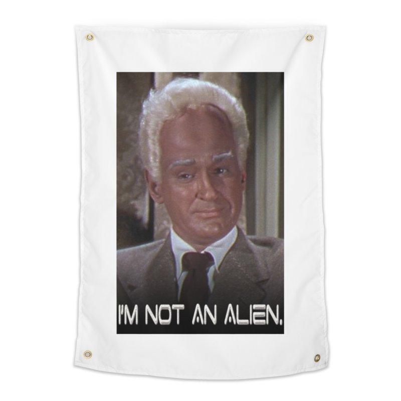 I'm Not an Alien Home Tapestry by Yodagoddess' Artist Shop