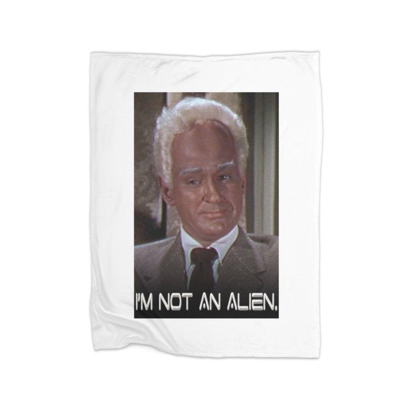 I'm Not an Alien Home Blanket by Yodagoddess' Artist Shop