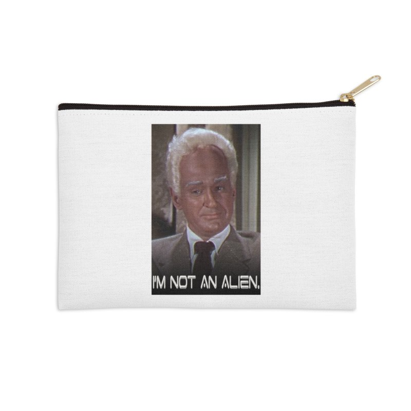 I'm Not an Alien Accessories Zip Pouch by Yodagoddess' Artist Shop