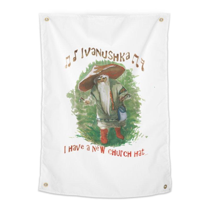 Grandfather Mushroom Home Tapestry by Yodagoddess' Artist Shop