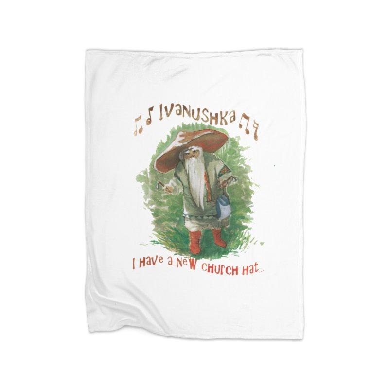 Grandfather Mushroom Home Blanket by Yodagoddess' Artist Shop