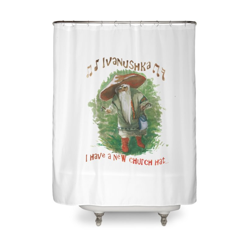 Grandfather Mushroom Home Shower Curtain by Yodagoddess' Artist Shop
