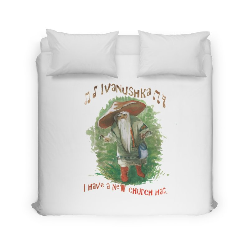 Grandfather Mushroom Home Duvet by Yodagoddess' Artist Shop