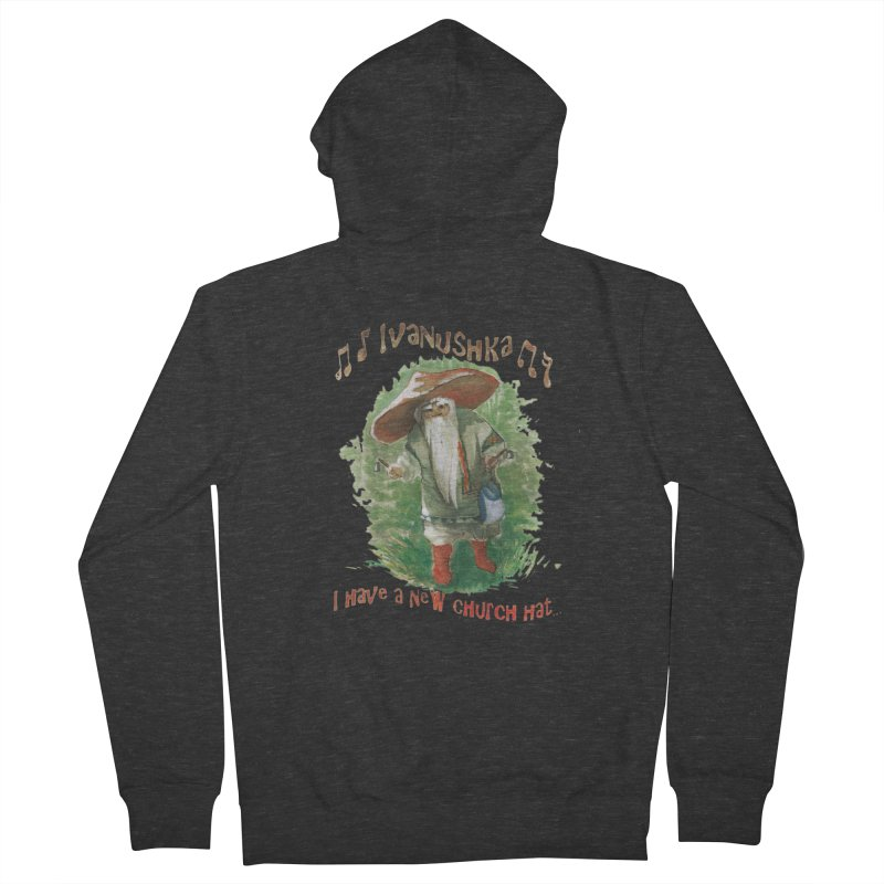 Grandfather Mushroom Men's Zip-Up Hoody by Yodagoddess' Artist Shop