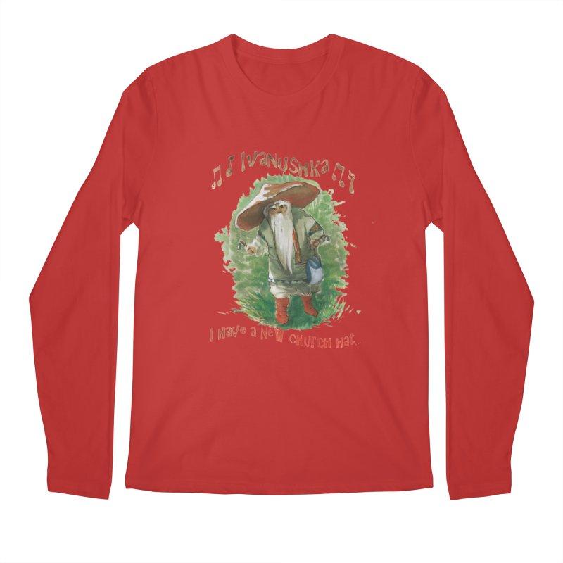 Grandfather Mushroom Men's Longsleeve T-Shirt by Yodagoddess' Artist Shop