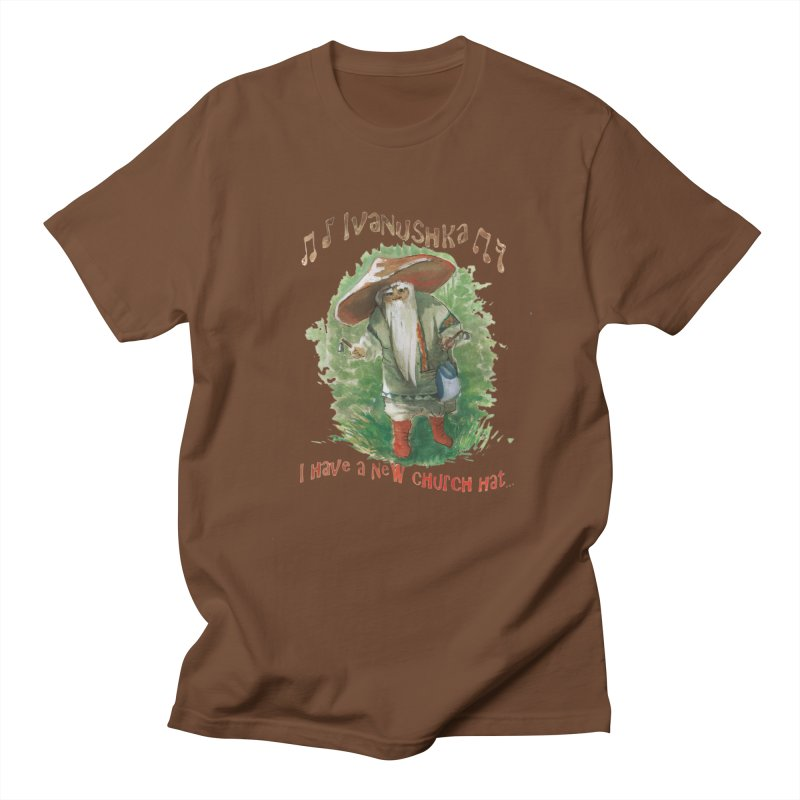 Grandfather Mushroom Men's T-Shirt by Yodagoddess' Artist Shop