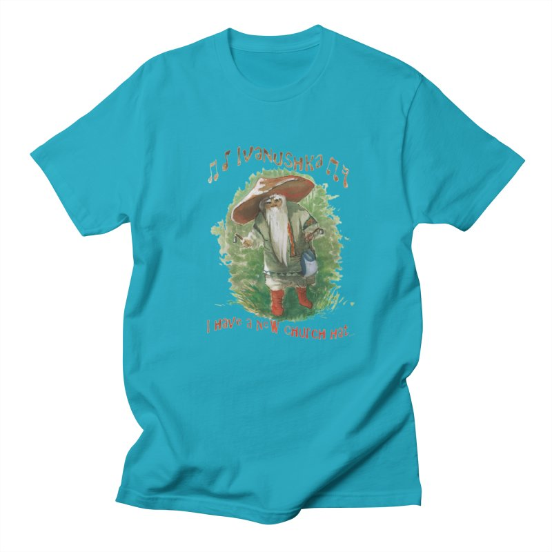 Grandfather Mushroom Men's T-shirt by Yodagoddess' Artist Shop